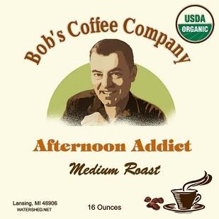 Bob's Coffee Company Afternoon Addict Organic Medium Roast