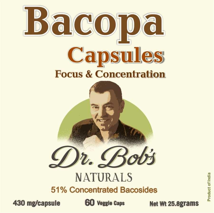 Focus - Bacopa Veggie Capsules (60 Capsules)