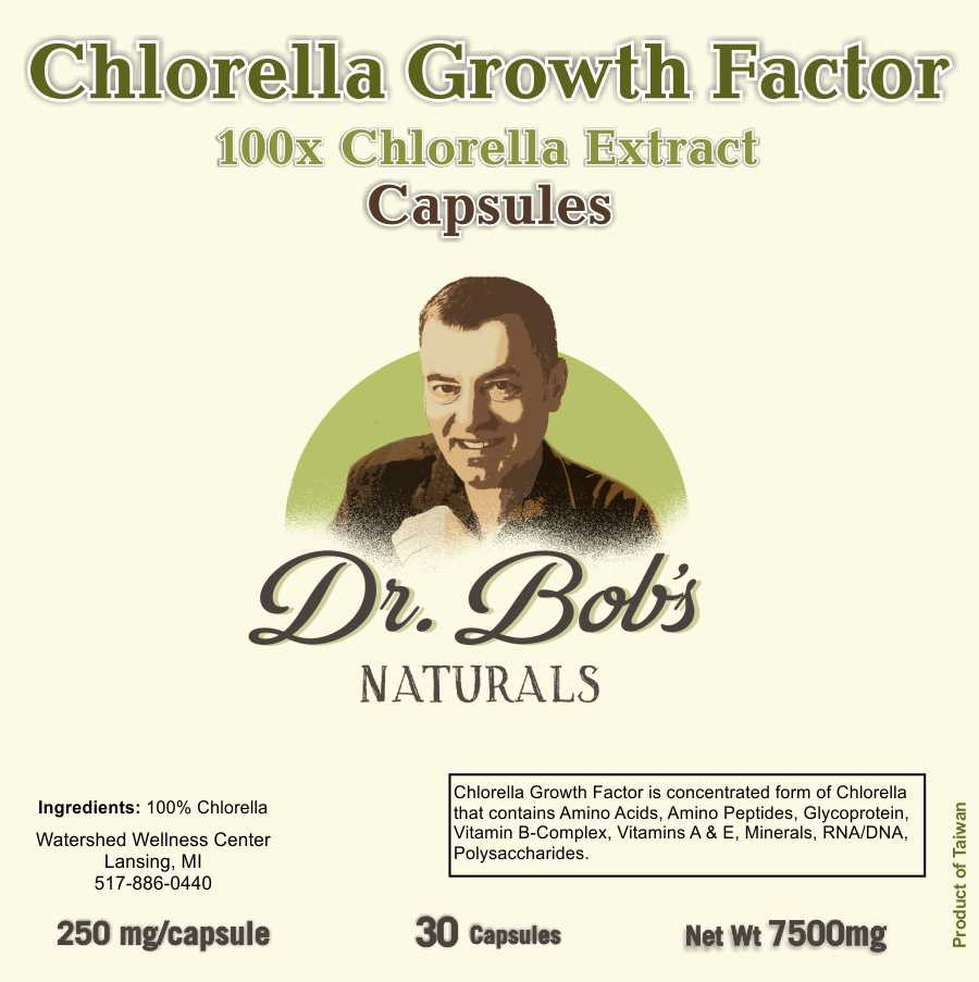 Chlorella Growth Factor (CGF) Capsules
