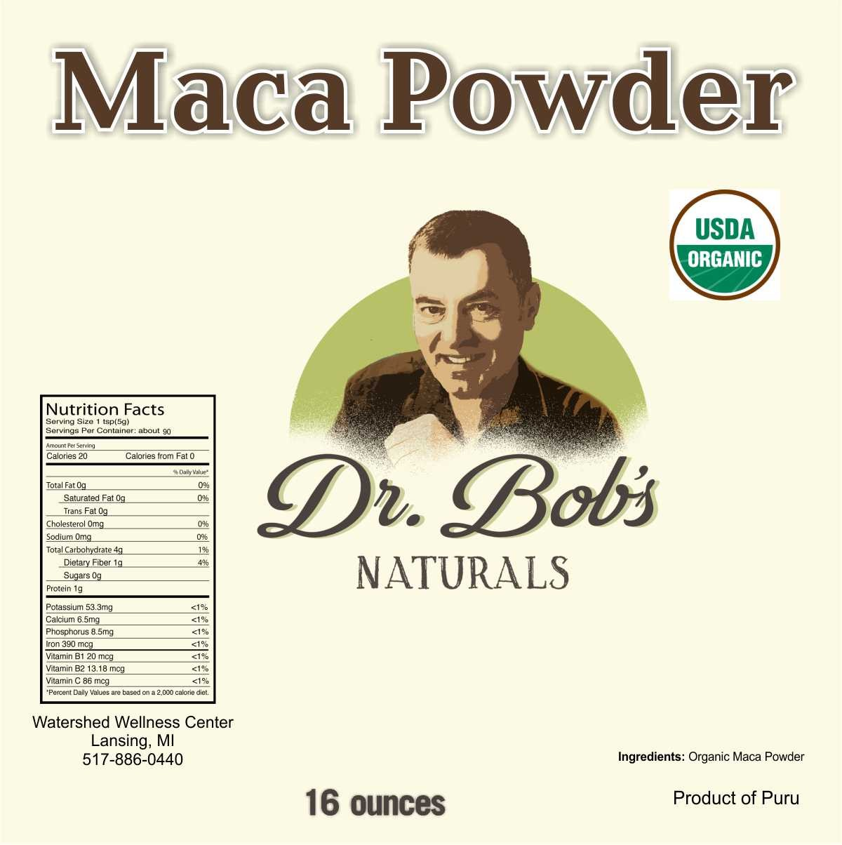 Maca Powder  -16 oz.