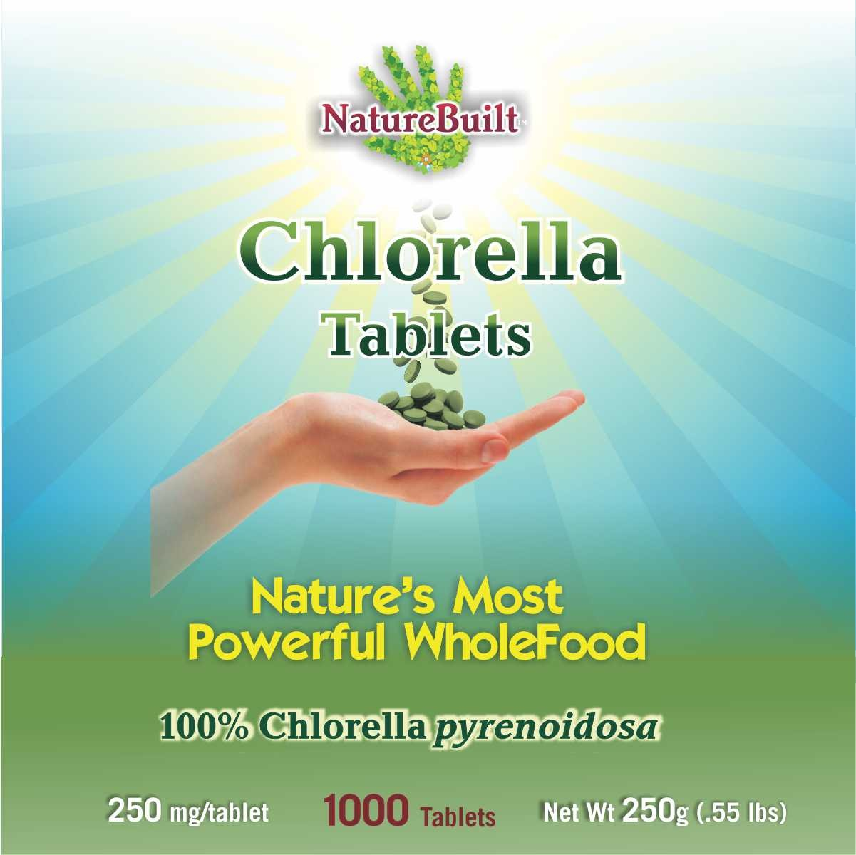 100% Chlorella Tablets