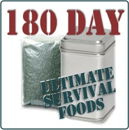 100% Spirulina Tablets Survival Pack
