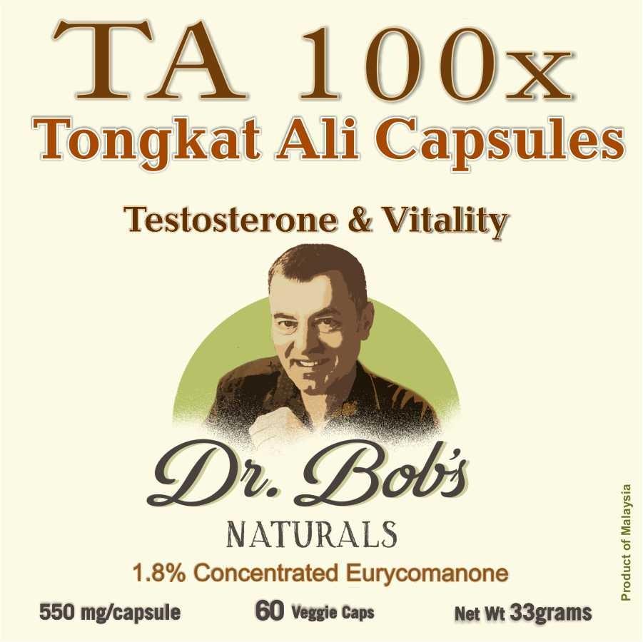 Tongkat Ali 100x Capsules (60 Capsules)