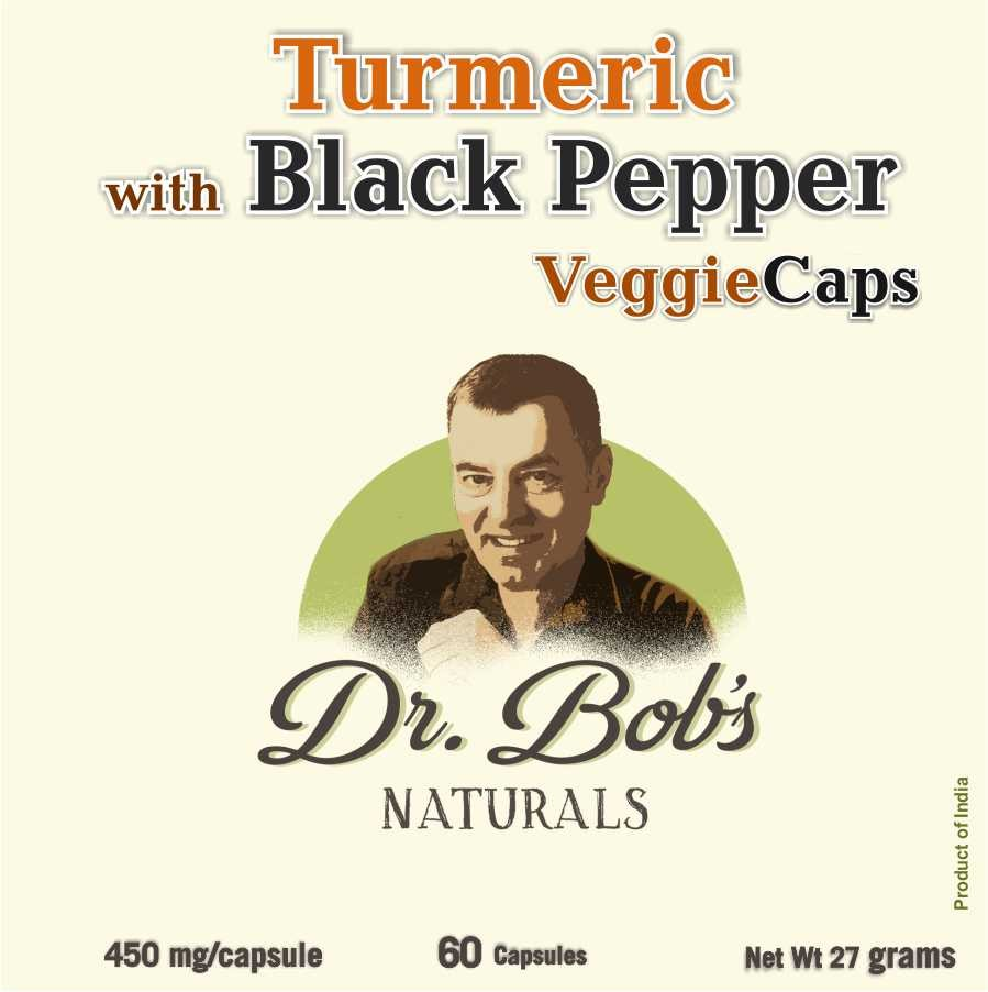 Anti-Inflammatory - Turmeric with Black Pepper Veggie Capsules