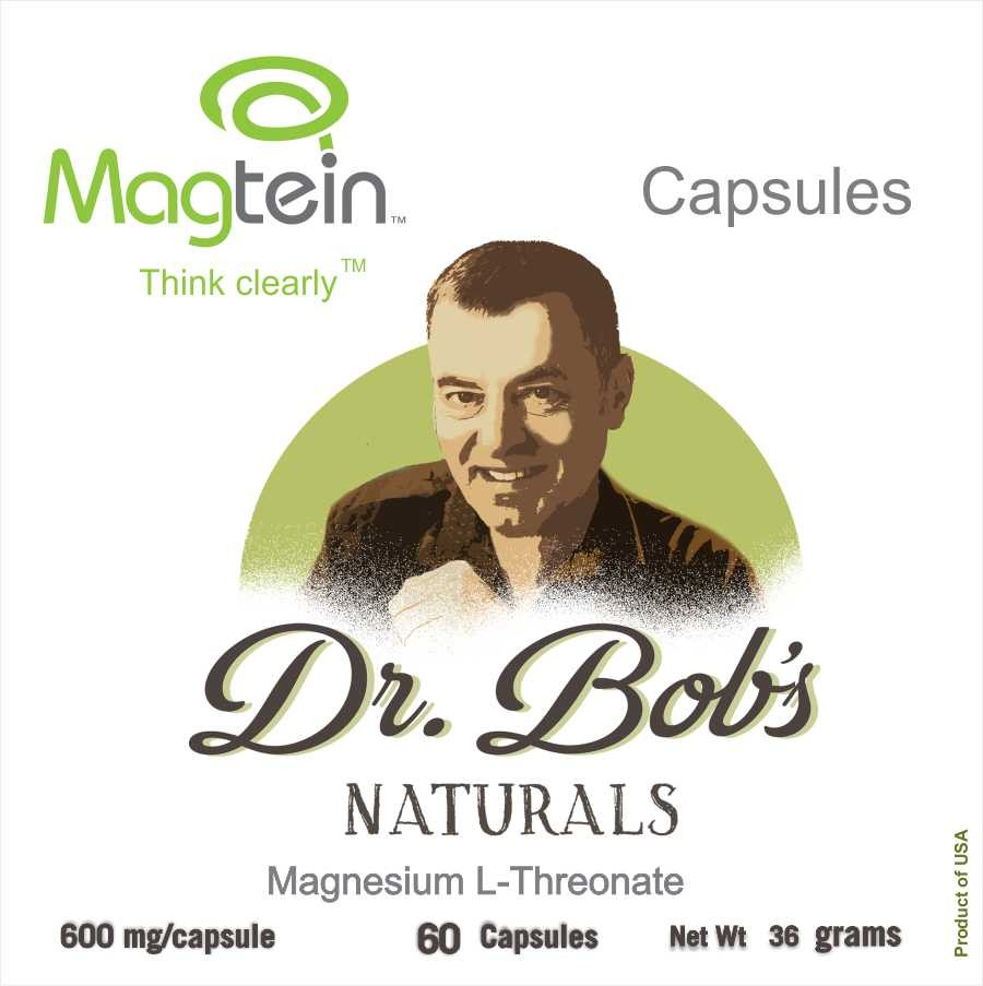 Magtein: Miracle Magnesium for the Brain Veggie Capsules