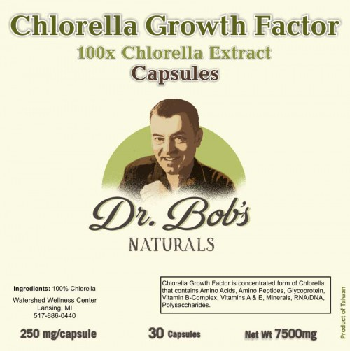 Chlorella Growth Factor (CGF) Capsules