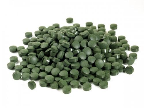 NatureBuilt 90% Chlorella 10% Turmeric Tablets