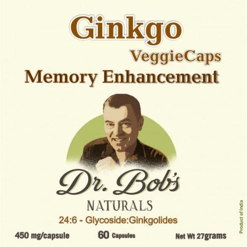 Ginkgo VeggieCaps (60 Capsules)