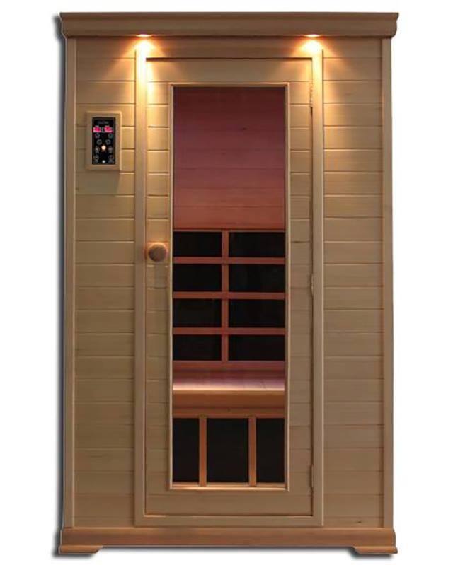Infrared 2 Person Nordic Spruce Sauna CE-2