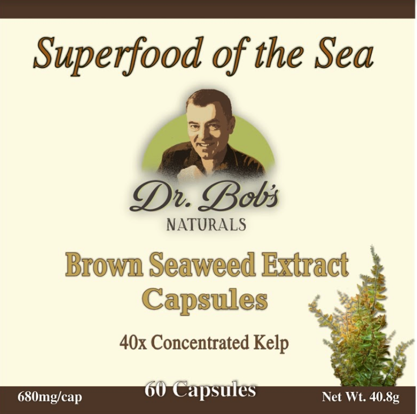 Brown Seaweed Extract Capsules ( 680mg / 60 Capsules)