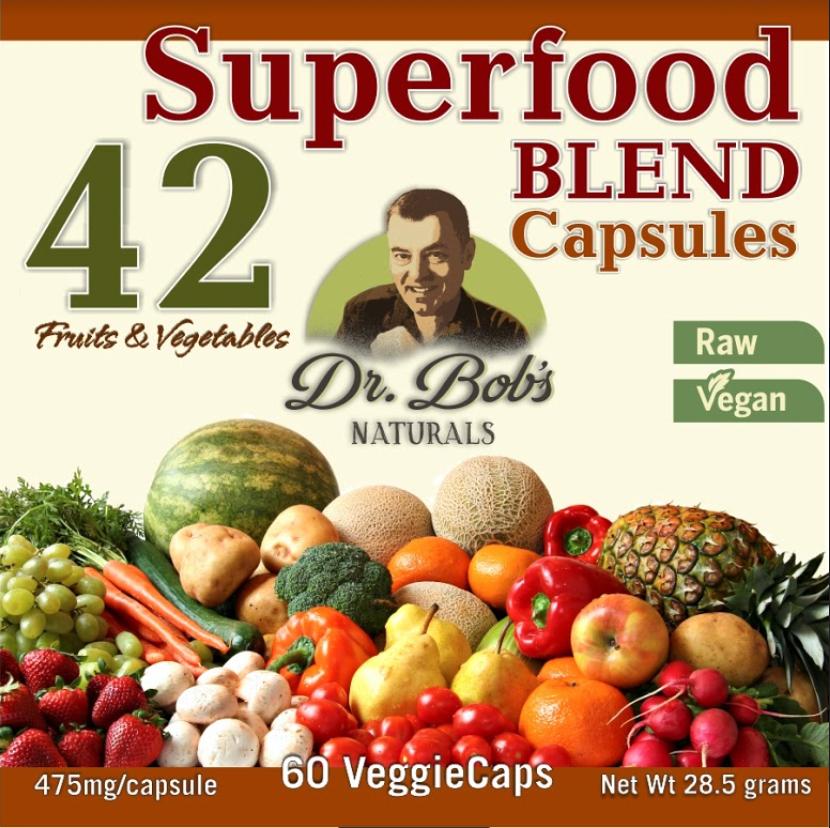 Dr. Bob's 42 Blend 475mg Superfood