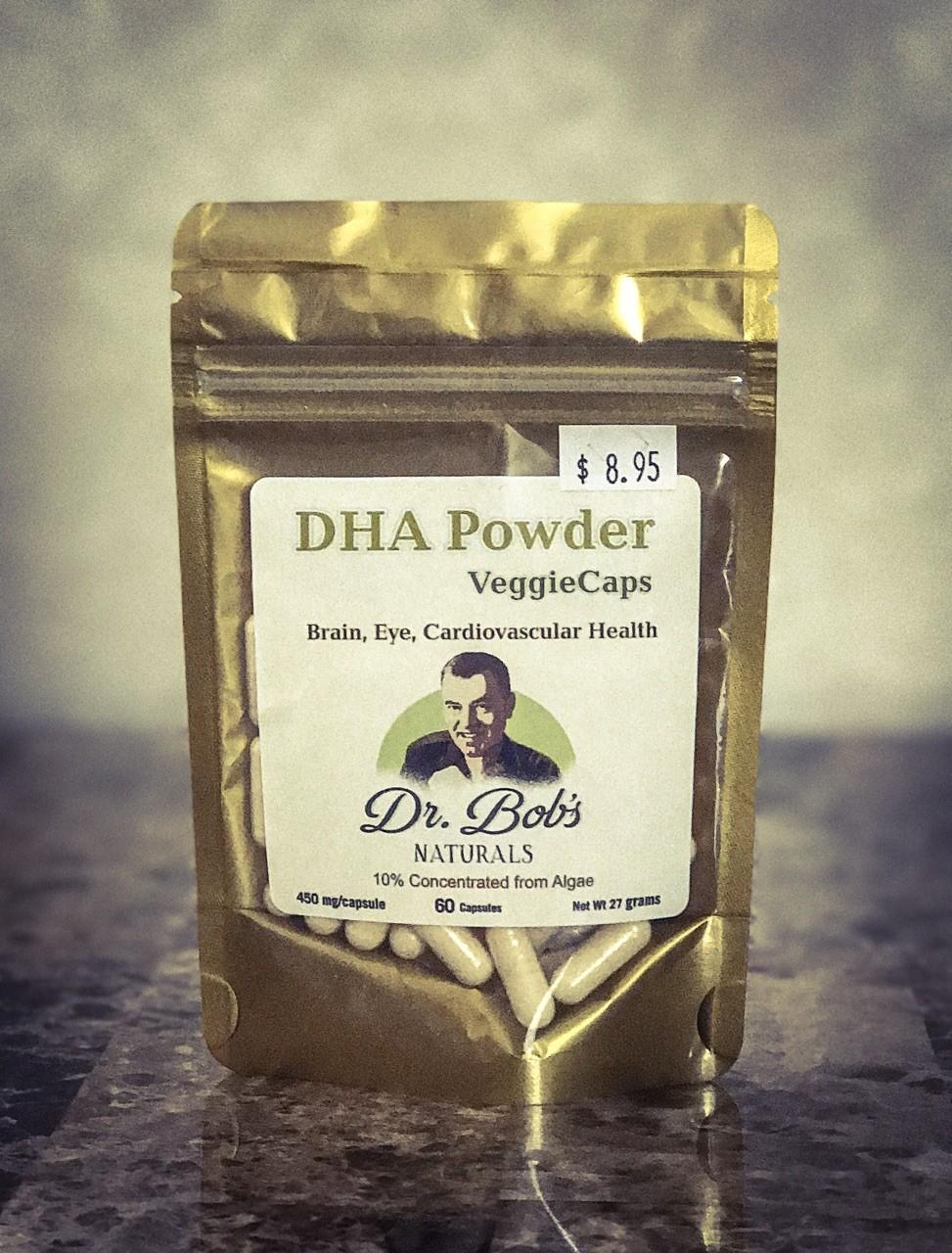 DHA Veggie Capsules (60 Capsules)