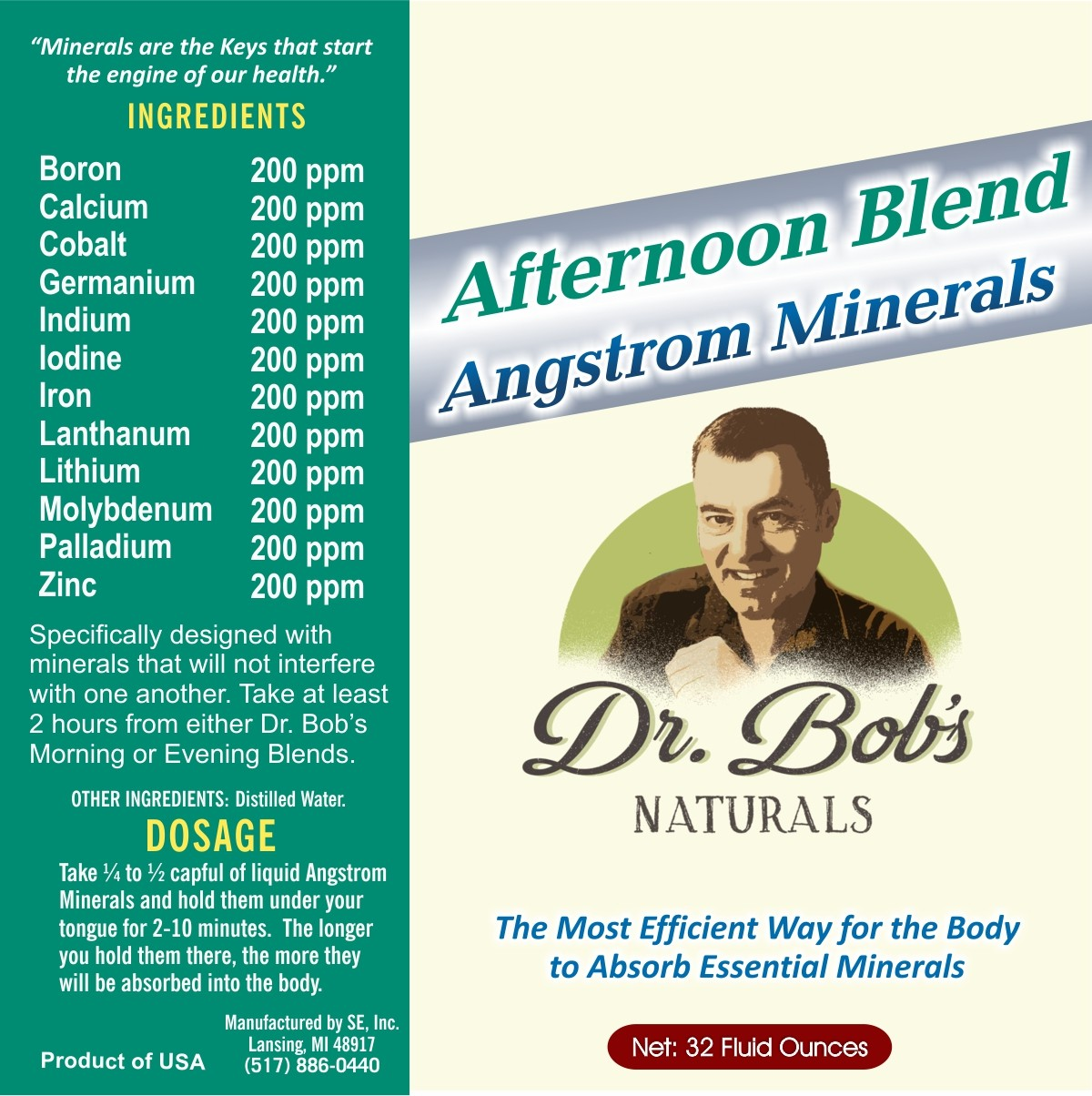 Angstrom Minerals - Afternoon Blend