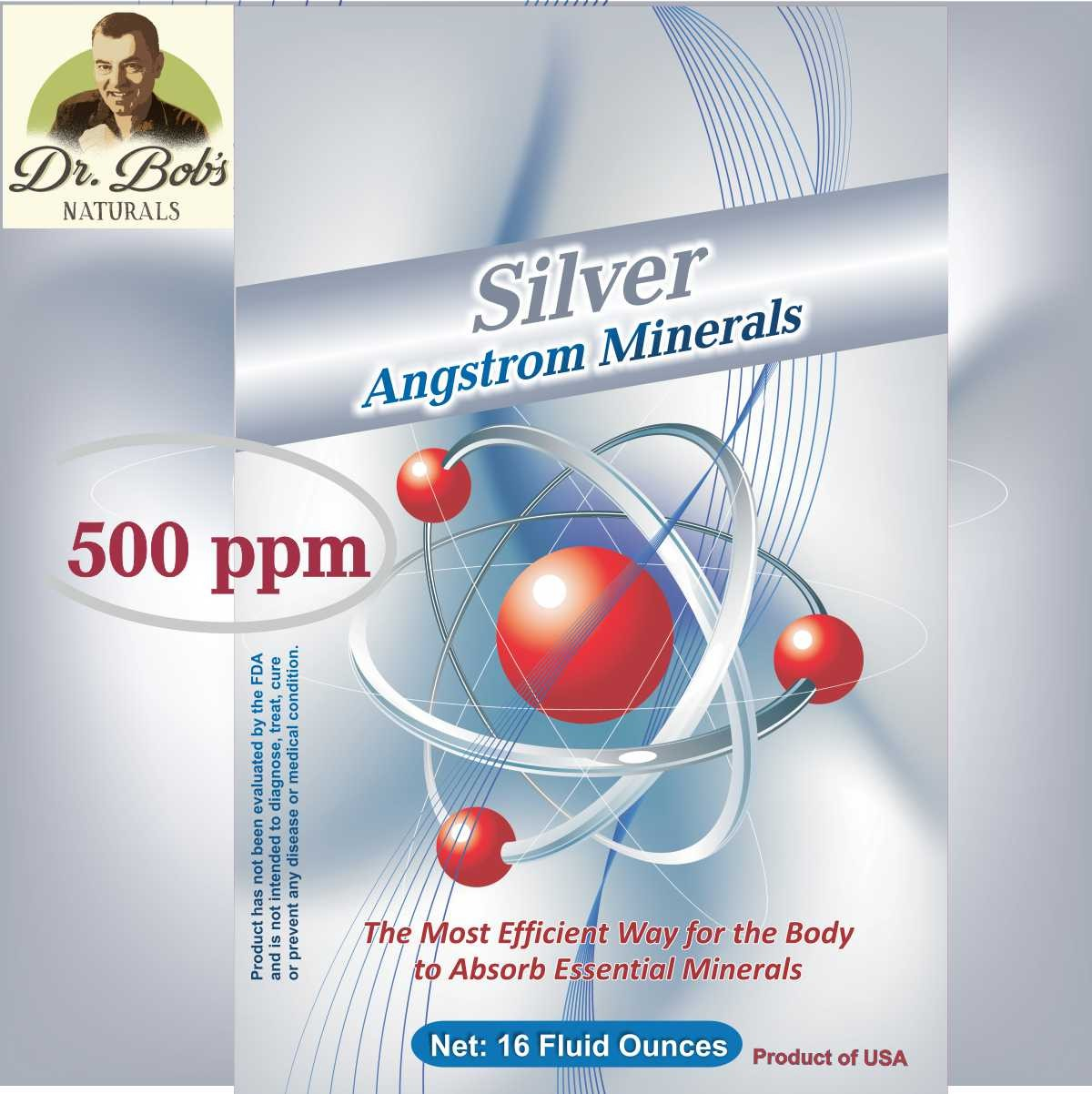 Silver 500 - (16 oz. bottle)