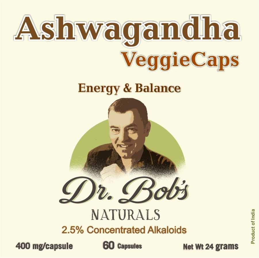 Ashwagandha Veggie Capsules