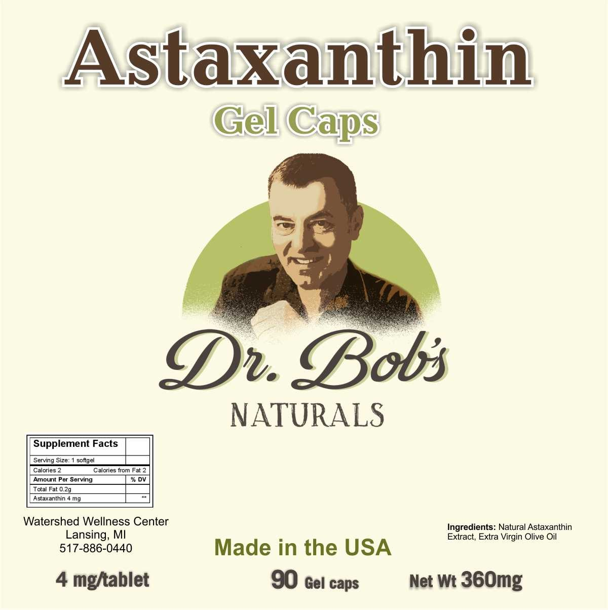 Astaxanthin Gel Caps