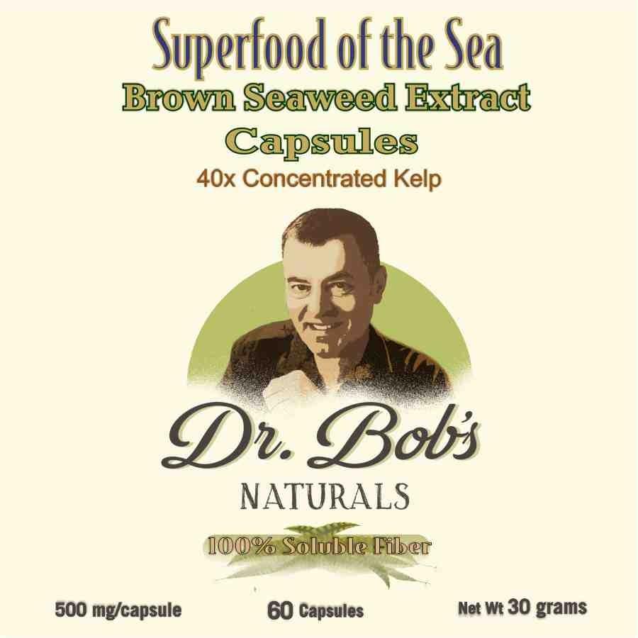 Brown Seaweed Extract Capsules (60 Capsules)