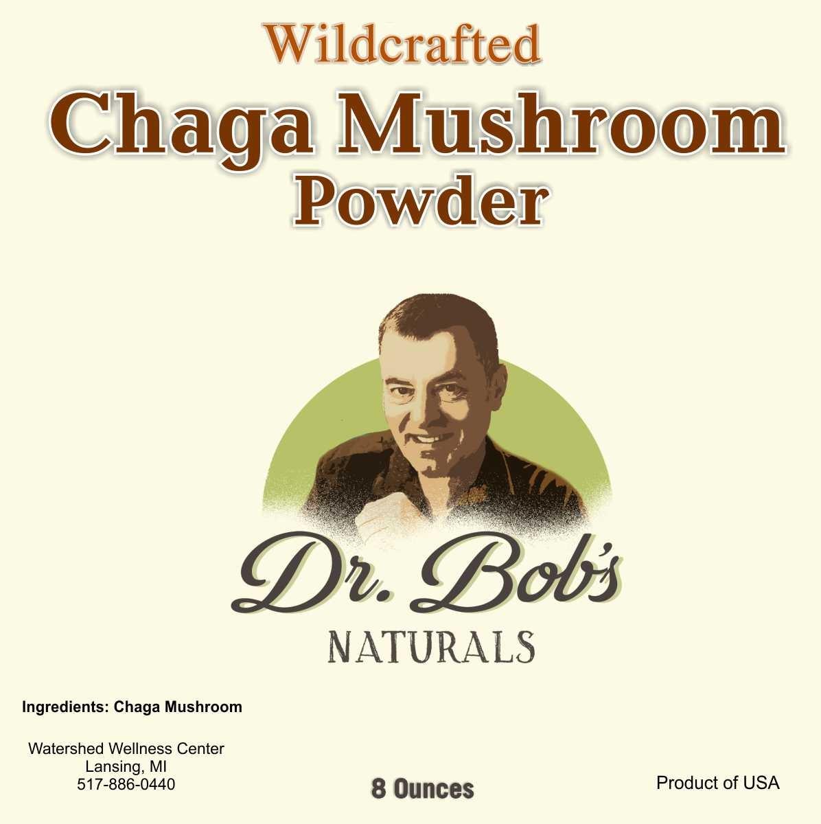 Wildcrafted Chaga Mushroom-8 oz.