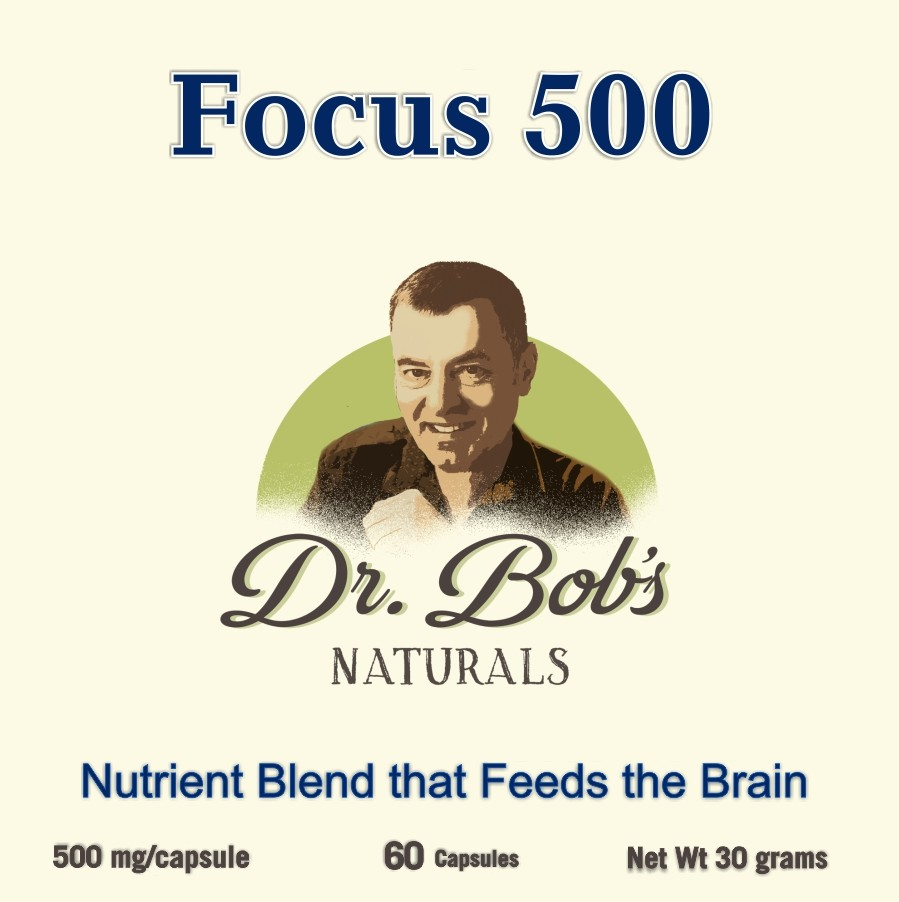 Focus 500 Nutrient Blend For The Brain