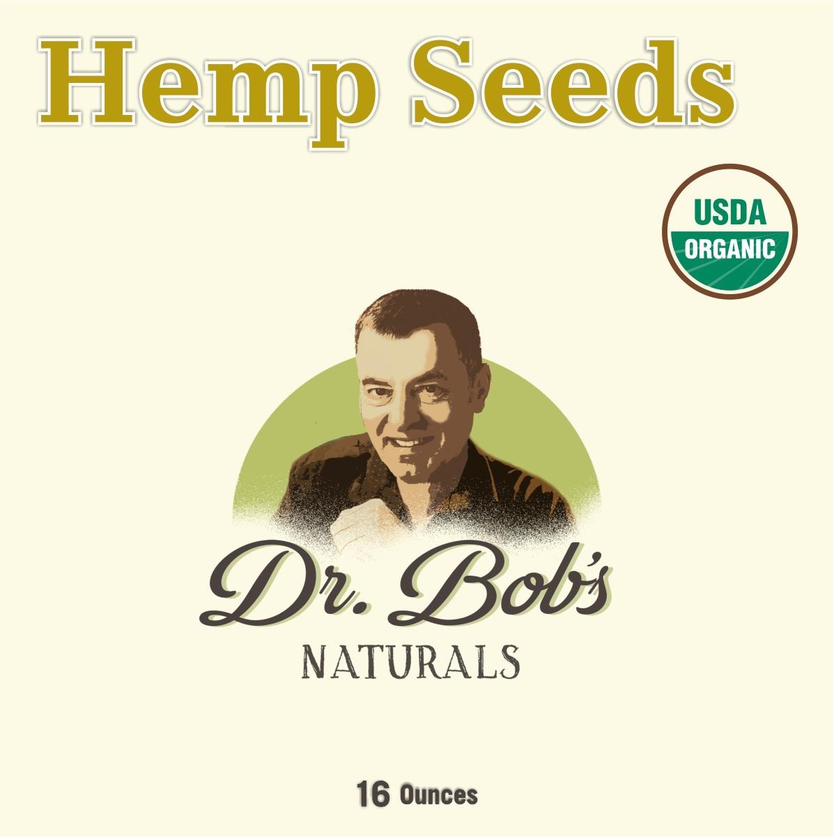 Organic Hemp Seeds 16oz