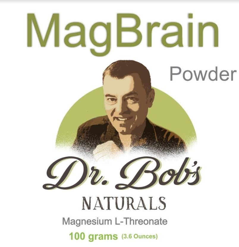 Dr. Bob's MagBrain: Magnesium for the Brain 100g Powder