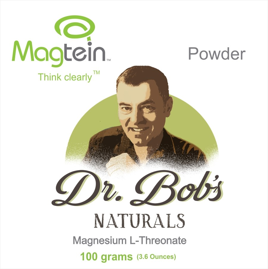 Dr. Bob's Magtein: Miracle Magnesium for the Brain 100g