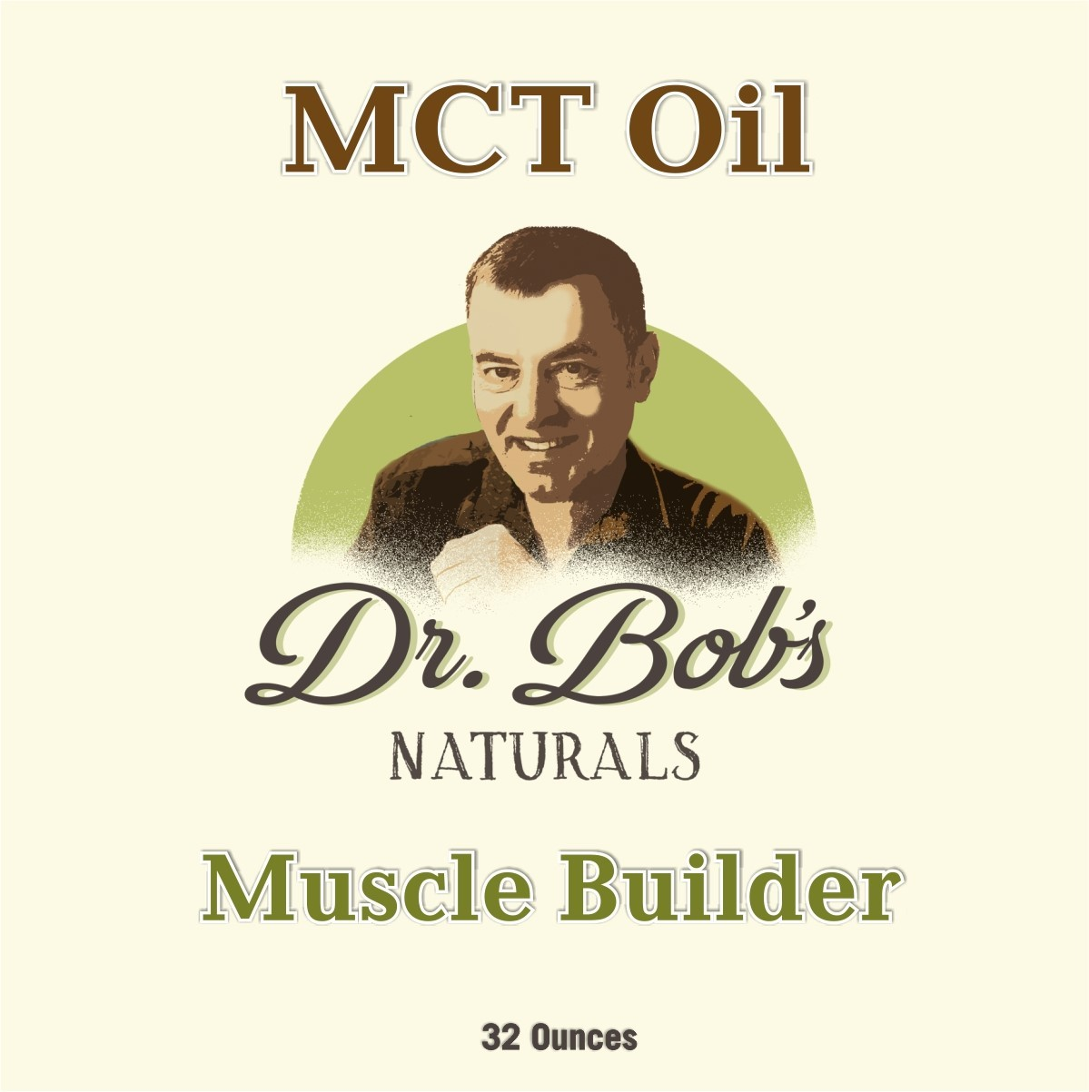 MCT Oil - Muscle Builder 32 oz