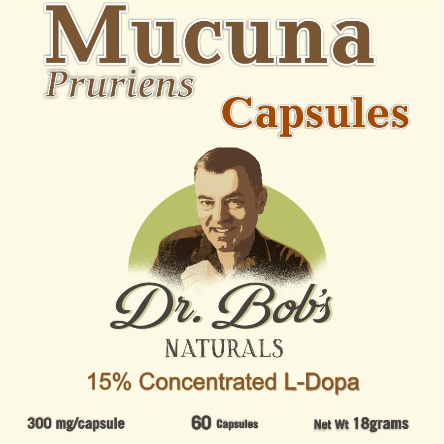 Mood Enhancer - Mucuna - Veggie Capsules