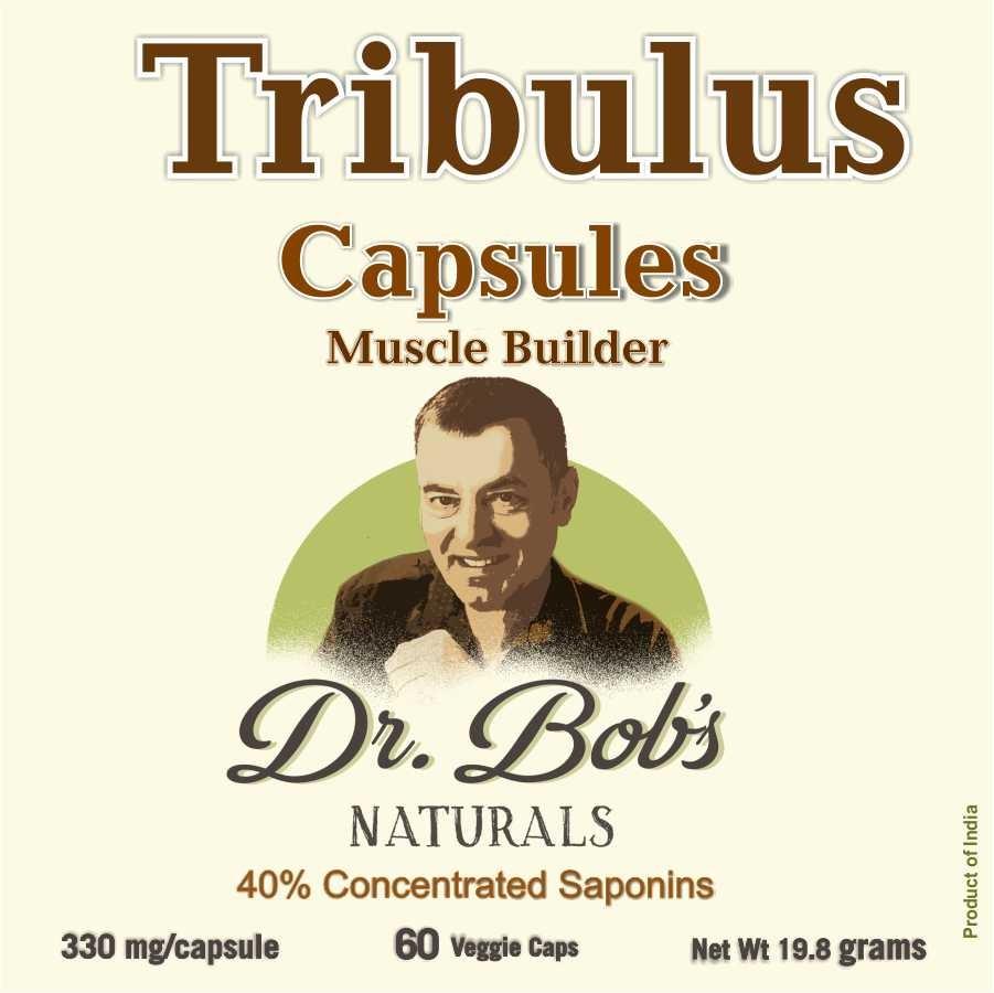 Muscle Builder - Tribulus Terrestris-Veggie Capsules (60 Capsules)
