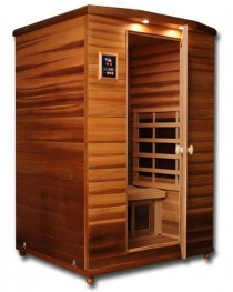 Infrared 2 Person Cedar Wood Sauna IS-2