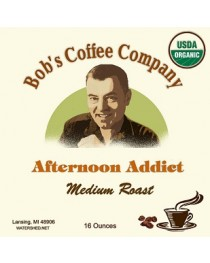 Bob's Coffee Company Afternoon Addict Organic Medium Roast