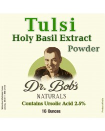 Tulsi - Holy Basil Extract Powder-16 oz.