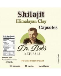 Himalayan Clay - Shilajit Veggie Capsules (60 Capsules)